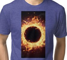 Fire ring Tri-blend T-Shirt