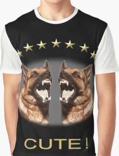 Cute Alsatian Graphic T-Shirt
