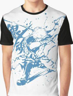 Gintama - Sakata Gintoki (Blue), Anime Graphic T-Shirt