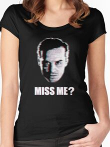 Miss Me? Static Women's Fitted Scoop T-Shirt