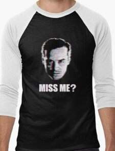 Miss Me? Static Men's Baseball ¾ T-Shirt