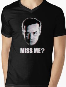 Miss Me? Static Mens V-Neck T-Shirt