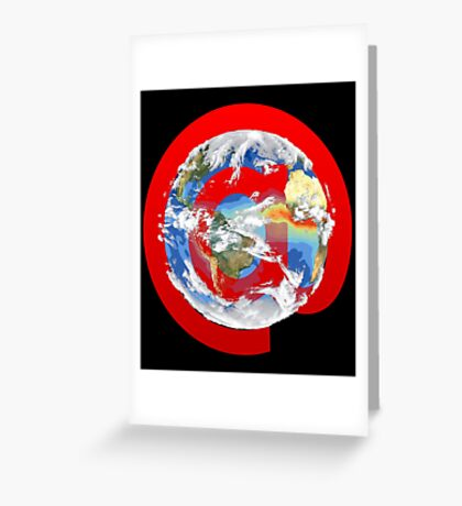 @ Earth Greeting Card