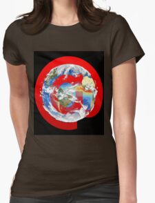 @ Earth Womens Fitted T-Shirt