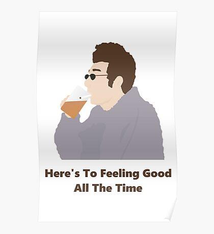 Seinfeld Kramer Feel Good Comedy Fan Art Unofficial Jerry Larry David Funny Poster