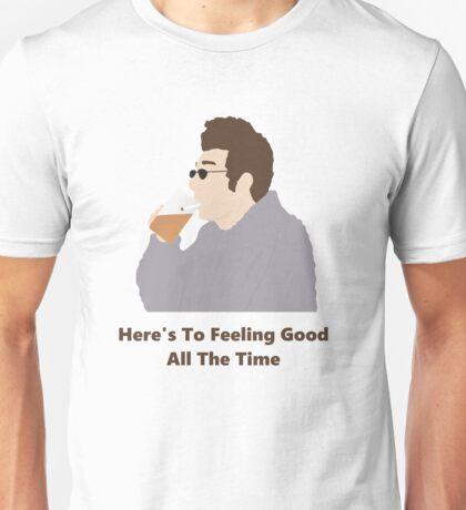 Seinfeld Kramer Feel Good Comedy Fan Art Unofficial Jerry Larry David Funny Unisex T-Shirt