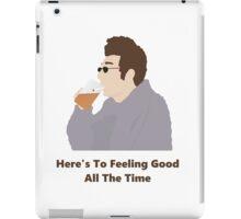 Seinfeld Kramer Feel Good Comedy Fan Art Unofficial Jerry Larry David Funny iPad Case/Skin