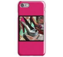 Silver Heels iPhone Case/Skin