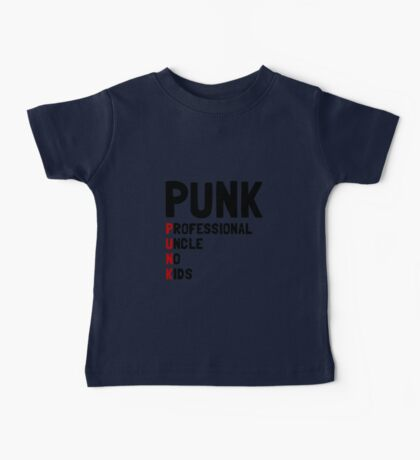 Punk Professional Uncle Baby Tee