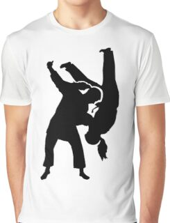 Judo woman girl Graphic T-Shirt