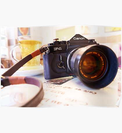 Canon F1-N for Tea Poster