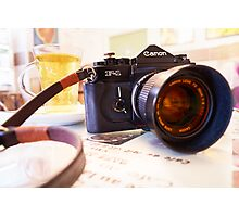 Canon F1-N for Tea Photographic Print