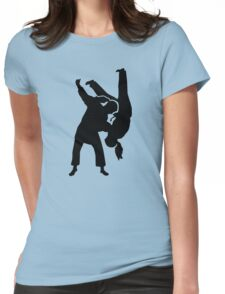Judo woman girl Womens Fitted T-Shirt