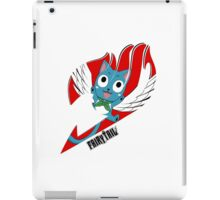 Red Fairy Tail (Happy Session) iPad Case/Skin