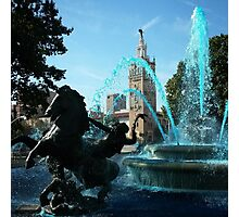J.C. Nichols Fountain Photographic Print