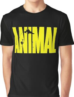 animal, fitness, muscle, strong, bodybuilding, logo, symbol, nutrition, vitamin, booster, barbell, club. Graphic T-Shirt