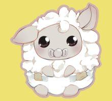 Toots the baby Alpaca! One Piece - Short Sleeve