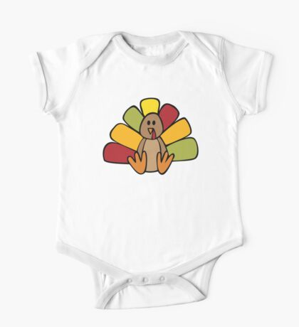 Turkey Time One Piece - Short Sleeve