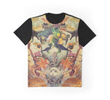 Meowosaurus Graphic T-Shirt