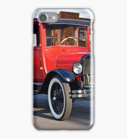 1927 Ford 'Top Hat' Model T Sedan iPhone Case/Skin