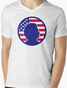 Hillary Clinton Mens V-Neck T-Shirt