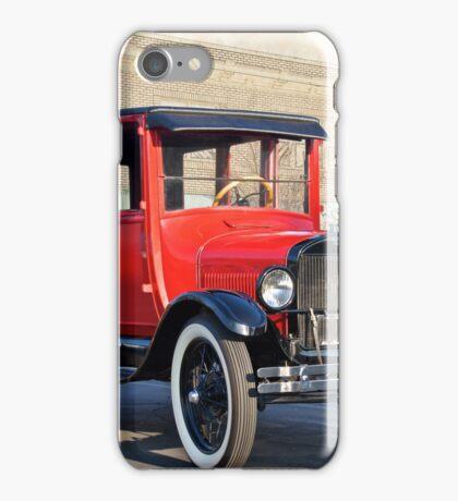 1927 Ford Model T Sedan 'Old Roseville' iPhone Case/Skin