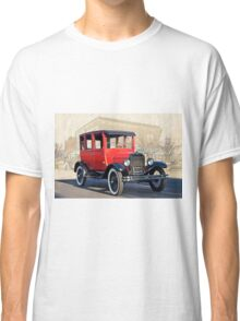 1927 Ford Model T Sedan 'Old Roseville' Classic T-Shirt