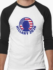 Hillary Clinton 2016 Men's Baseball ¾ T-Shirt