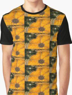 Sunshine Yellow Silk Decor Graphic T-Shirt