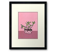 Wonky Flora 2 Framed Print