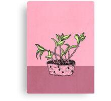 Wonky Flora 2 Canvas Print