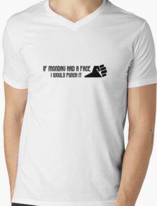 Monday Hate I Hate Mondays Funny Joke Humour Office Job Work Mens V-Neck T-Shirt