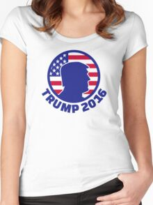 Trump 2016 Women's Fitted Scoop T-Shirt