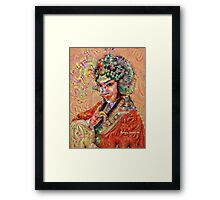 Beauty is in the Eye of the Beholder Framed Print