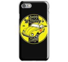 Sparkplug garage iPhone Case/Skin