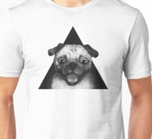 Snuggle Pug Unisex T-Shirt