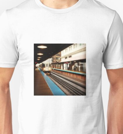 Chicago Train Unisex T-Shirt