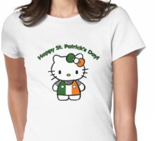 Happy Patrick's day Womens Fitted T-Shirt