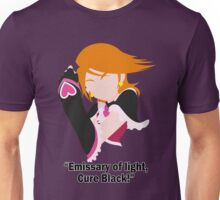 """Emissary of light, Cure Black!"" Unisex T-Shirt"