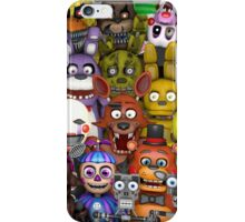 FNaF ~ 5 Five Nights at Freddys ~ Video Game Gamer Gaming iPhone Case/Skin