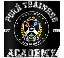 Pokemon Academy Poster