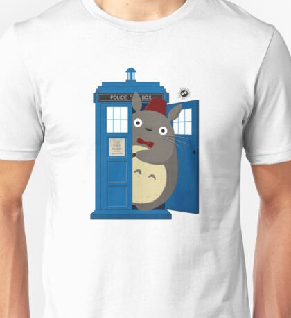 totoro Police Box Unisex T-Shirt