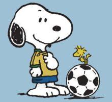 Snoopy Football Baby Tee