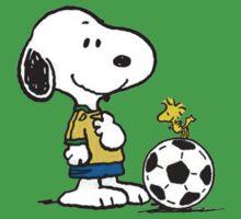 Snoopy Football Kids Tee
