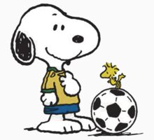 Snoopy Football One Piece - Short Sleeve