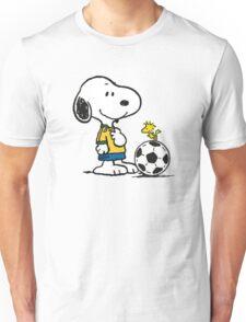 Snoopy Football Unisex T-Shirt