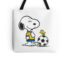 Snoopy Football Tote Bag