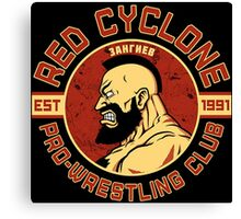 Pro Wrestling Canvas Print