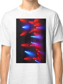 The Colors of Music in Red and Blue Classic T-Shirt
