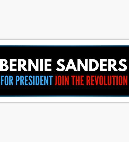 Bernie Sanders For President Join The Revolution Sticker
